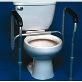 PCP-Toilet Safety Frame Hand Rails